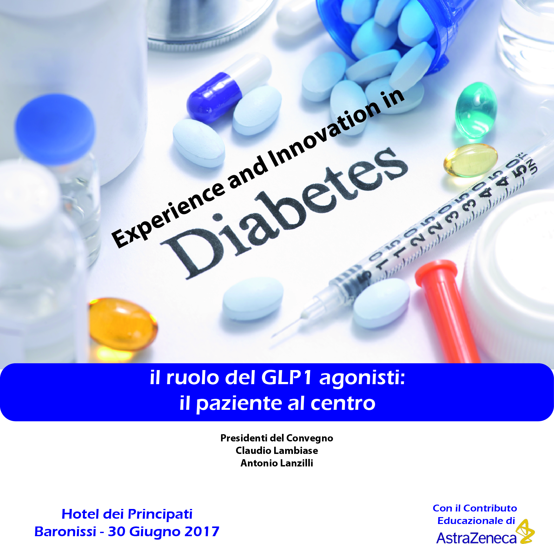 EXPERIENCE AND INNOVATION IN DIABETES 30 Giugno