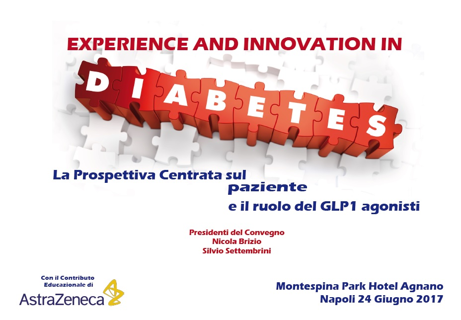EXPERIENCE AND INNOVATION IN DIABETES 24 Giugno