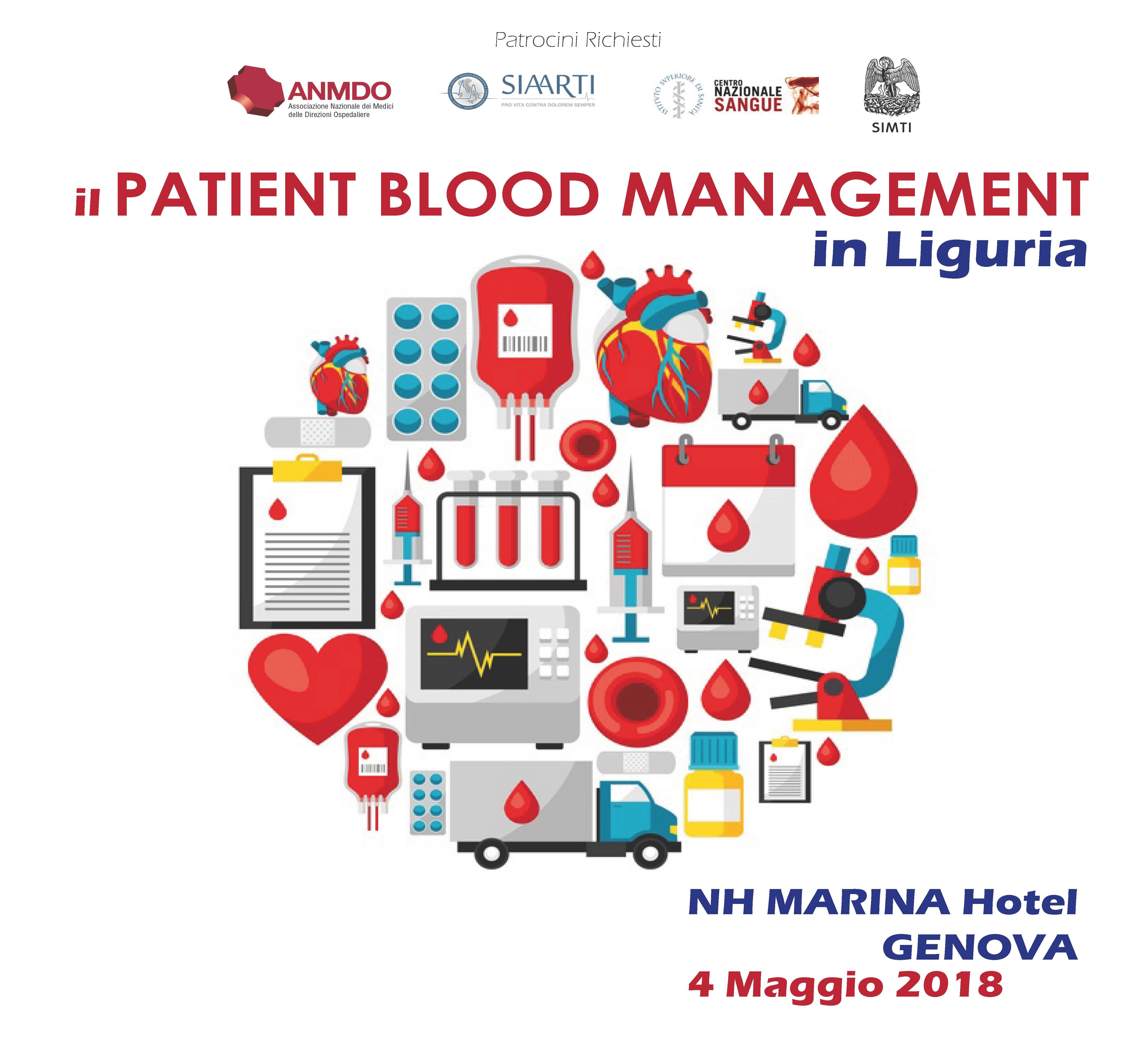 IL PATIENT BLOOD MANAGEMENT IN LIGURIA