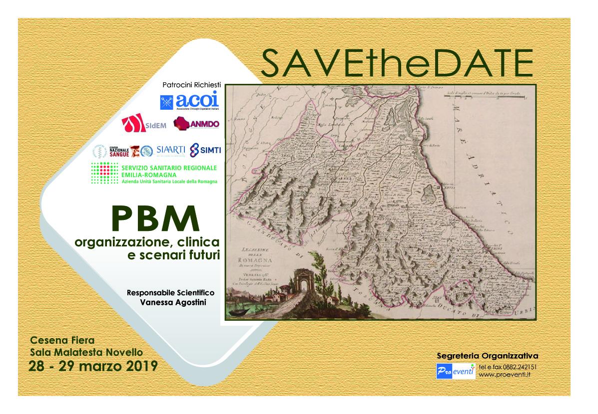 PBM: organizzazione, clinica e scenari futuri