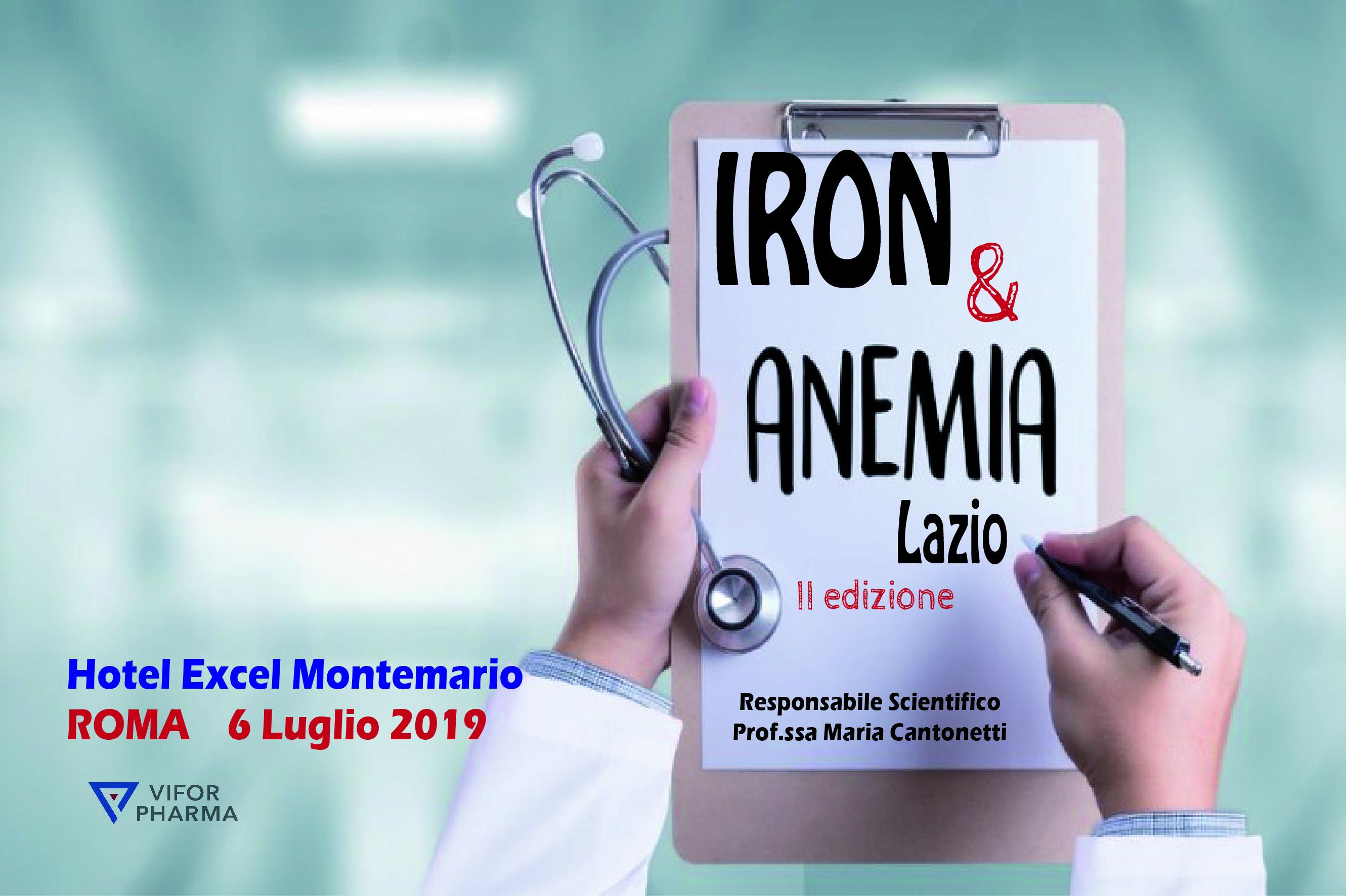 IRON E ANEMIA - II edizione