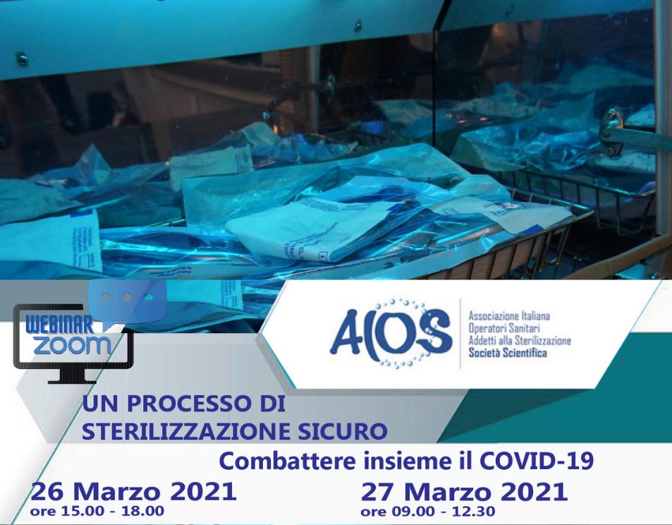 AIOS- UN PROCESSO DI STERILIZZAZIONE SICURO. COMBATTERE INSIEME IL COVID-19