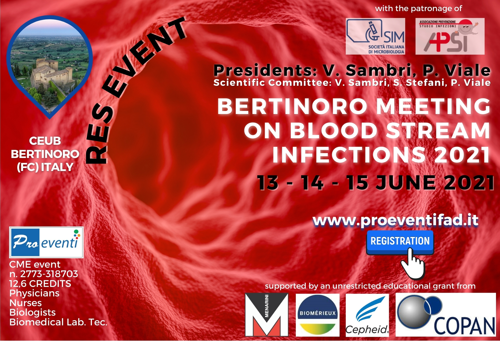 RES- BERTINORO MEETING ON BLOOD STREAM INFECTIONS 2021