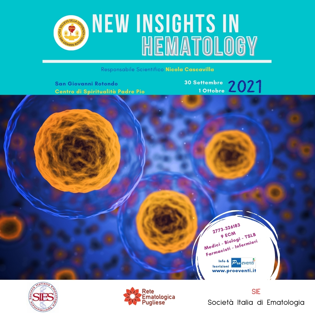 RES- NEW INSIGHTS IN HEMATOLOGY 2021